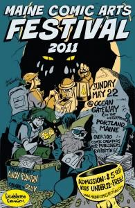MeCAF 2011 poster